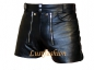 Preview: Leather Shorts Retro style in different colors