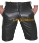 Preview: Cargo leather shorts in different colors