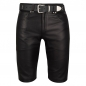 Preview: Leather shorts Bermuda-style in different colors