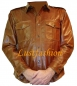 Preview: Leather Shirt Long Sleeve in various colors