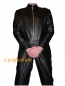 Preview: Leather overalls suits full-length zip in different colors