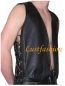 Preview: Leather vest in different colours