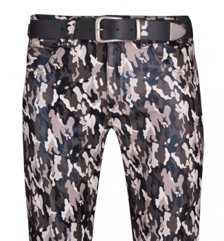 Jeans Camouflage - look