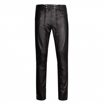 Leather trousers carpenter Style pants in different colors