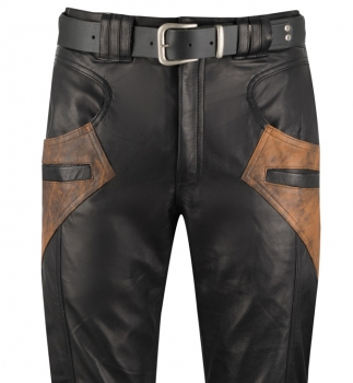 Trousers black-antique