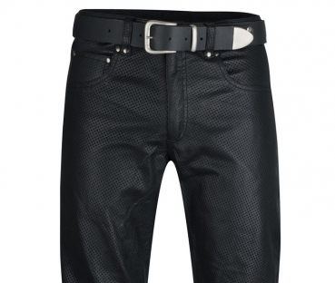 Trousers perforated
