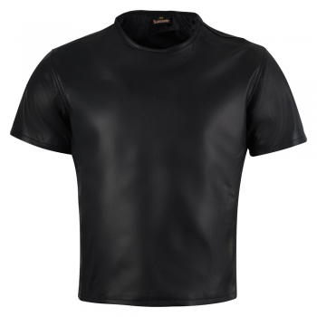 Leather shirt T-shirt in different colors