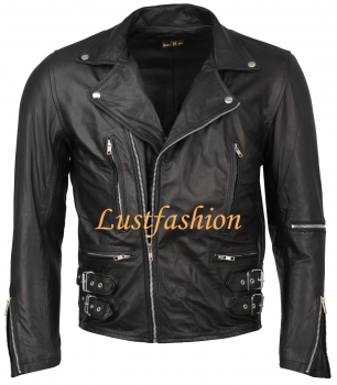 Leather Jacket Biker Jacket in different colors