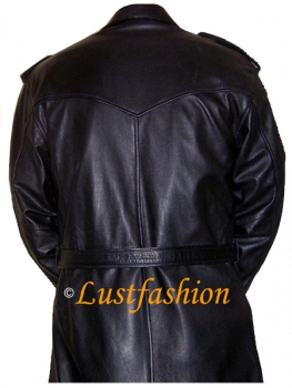 Leather coat for men in different colors