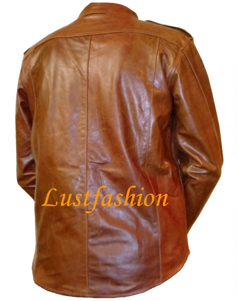 Leather Shirt Long Sleeve in various colors