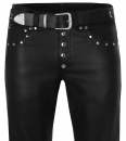 Design leather pants in different colors