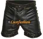 Leather Shorts Bondageshorts lockable, different colours