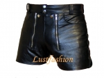 Leather Shorts Retro style in different colors