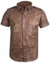 Leather shirt antique